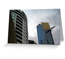 Quay West, IBM & Eureka Skydeck Buildings Greeting Card