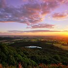 Sutton Bank sunset by PaulBradley