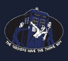 The Walkers Have the Phone Box by B4DW0LF