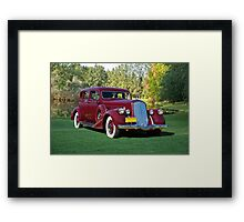 1936 Pierce-Arrow 1601 Sedan Framed Print