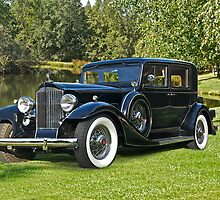 1933 Packard Sedan by DaveKoontz