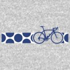 Bike Stripes King of the Mountains (Blue) by sher00