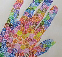 handful of roses by rysunki-malunki