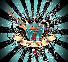 7 Notes - Black by AliCat202