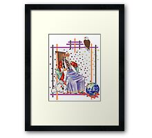 The Tarot Emporer  Framed Print
