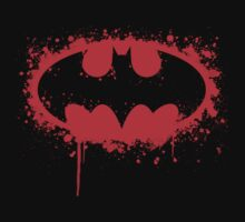 Bat Red Variant Part 1 Digital Splatter by justin13art