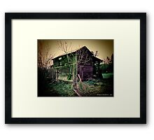 Rotting Framed Print