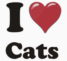 I Heart Cats by HighDesign