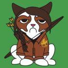 Grumpy Katniss by Scotty4815