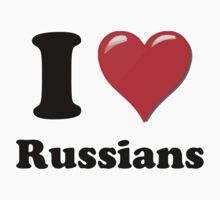 I Heart Russians by HighDesign