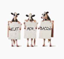 Eat Mor Bacon by Jonathan Lynch
