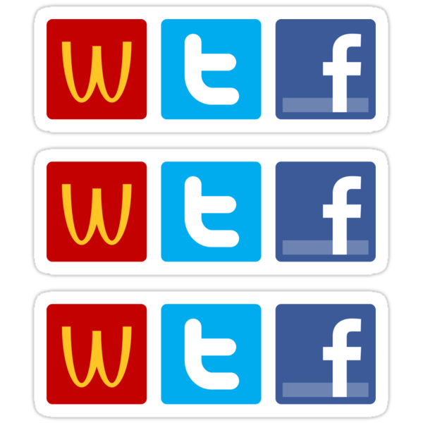 WTF ×3 by csyz ★ $1.49 stickers