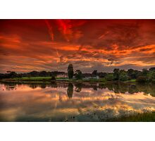 Millpond Sunset Photographic Print