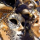 Masks Of Venice by Adrian Alford Photography