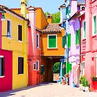 Burano by Adrian Alford Photography