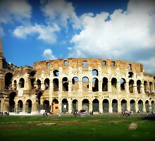 The Colosseum in Rome by Fraser Musson