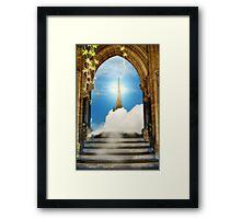 Stairway to Solitude Framed Print