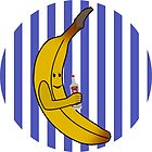 B1 circle logo print by teenmutantboss