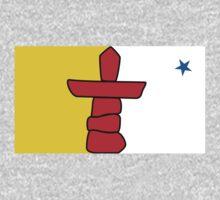 Nunavut Flag by cadellin