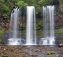 Sgwd yr Eira Waterfall Vale of Neath by Nick Jenkins