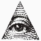 All seeing eye BLACK version by electrosterone