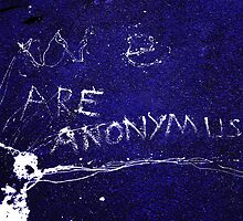 We Are Anonymus  by PictureNZ
