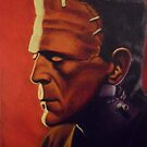 The Monster (Karloff) by Conrad Stryker