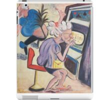 Gambling Granny by Suzanne Marie Leclair iPad Case/Skin