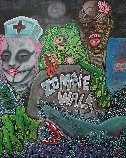 Zombie Walk by Laura Barbosa