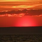 Sunset Over the Bay of Fundy by Brian Chase