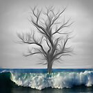 "Global warming series ""The last tree""  by Martin Dingli"