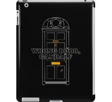 Wrong Door, Gandalf iPad Case/Skin
