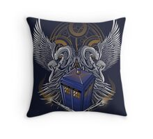 Timelord and Proud - Print Throw Pillow