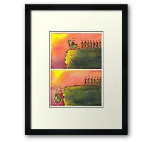 TO MARCH ON (field version)   Framed Print