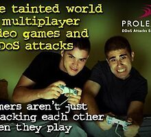 Prolexic DDoS Attacks in the Gaming Community by prolexic
