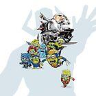 X-Minions VS Galactus by ickhwano