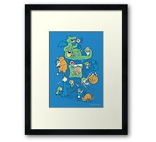 Total Party Kill Framed Print