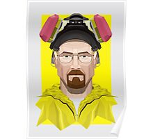 Walter White in Lab Gear Poster