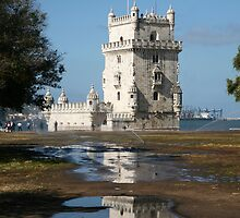 Belem Tower 2 - Lisbon by Rob Chiarolli