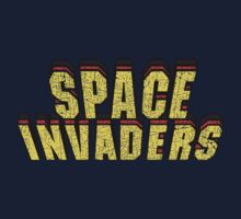 Vintage Look Retro Arcade Classic Space Invaders by VintageSpirit