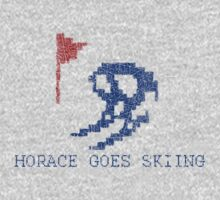 Vintage Look Retro Arcade Horace Goes Skiing Kids Clothes
