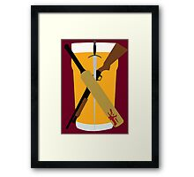 The Cornetto Trilogy Framed Print