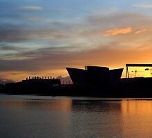 Harland & Wolff Sunrising by Wrayzo