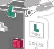 How Tetris is Made Sticker