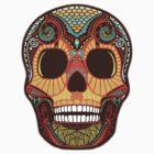 Tattoo Skull by Kerstin Schoene