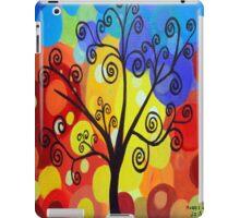 Abstract tree 6 iPad Case/Skin
