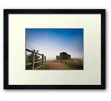 Upton Country Park in the Morning Framed Print