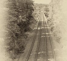 Railway lines by sc-images