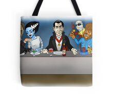 Monsters Last Supper  Tote Bag