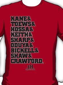 Hawks Roster Tee T-Shirt